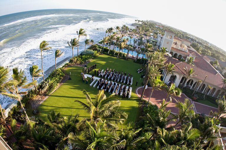 boda en Palm Beach