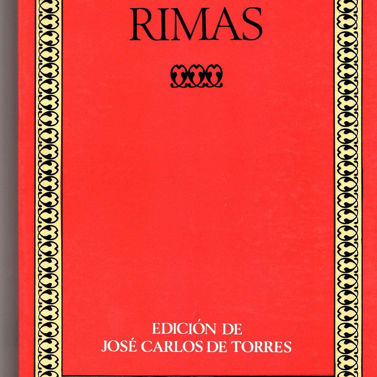 Rimas de Gustavo Adolfo Bécquer poesía romántica