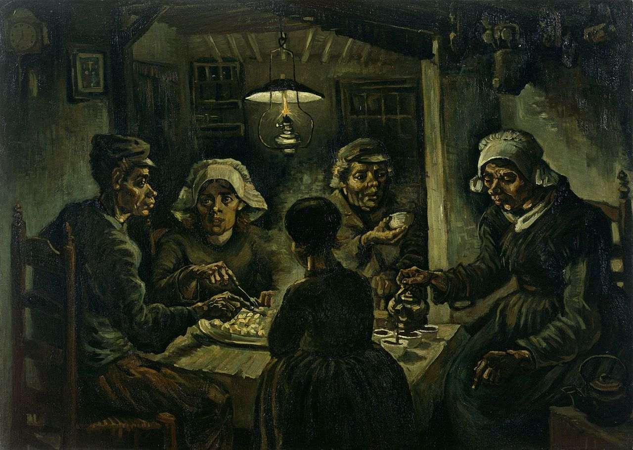 Vincent van Gogh, Los comedores de patatas