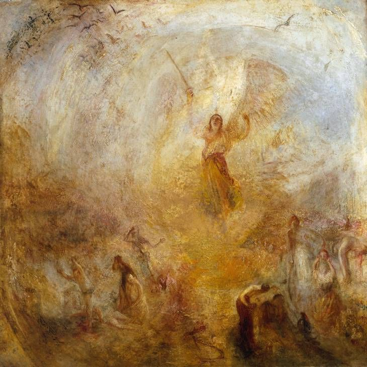 El ángel parado en el Sol por Joseph Mallord William Turner