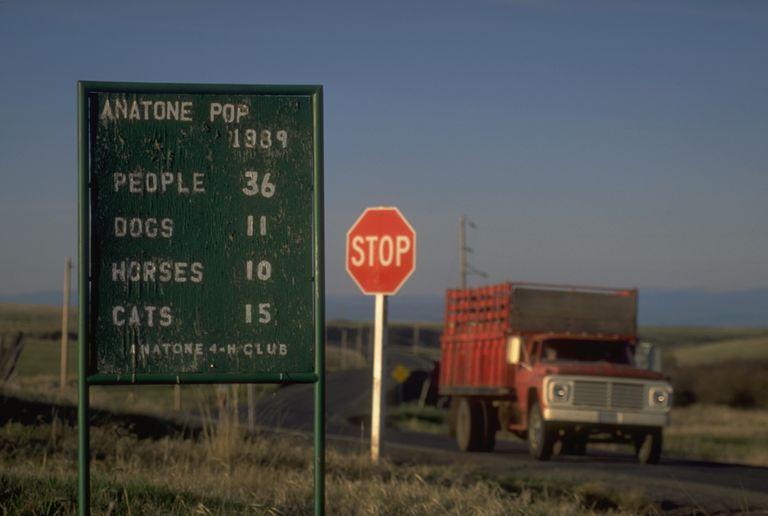 Signo de población de Anatone