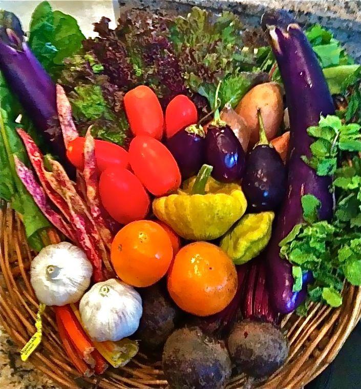 Vegetales Día de la Tierra