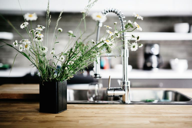 Una cocina limpia