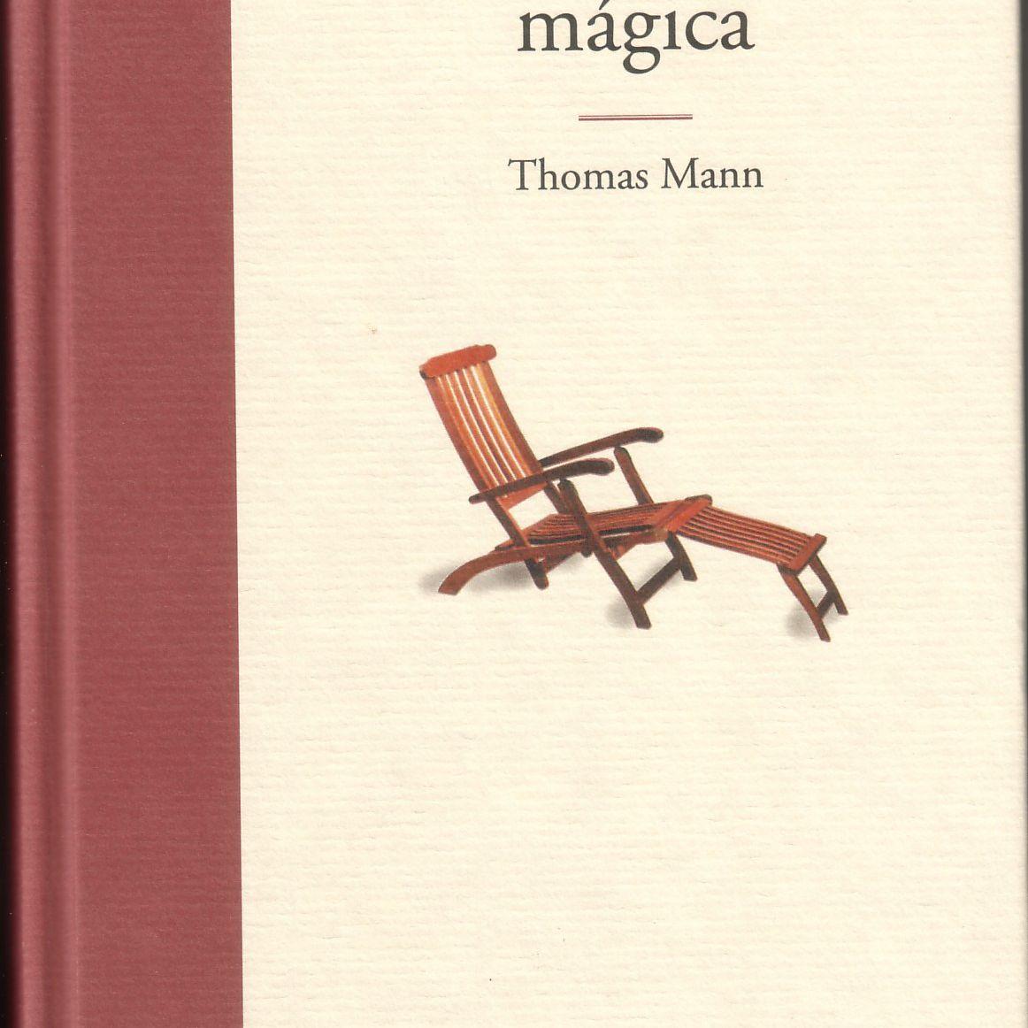 La montaña magica de Tomas Mann