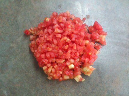 Picar tomate