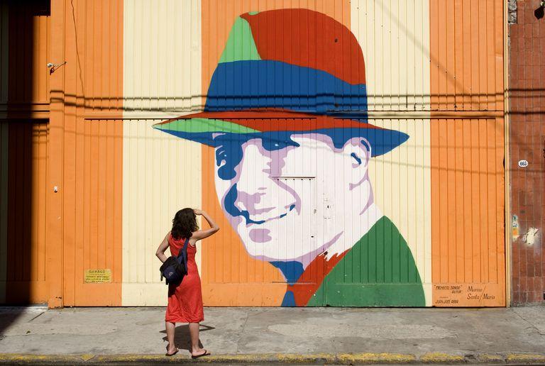 Mural de Carlos Gardel