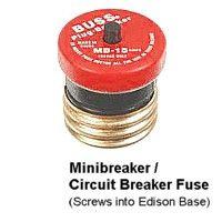 Fusible minidisyuntor cortador de circuito