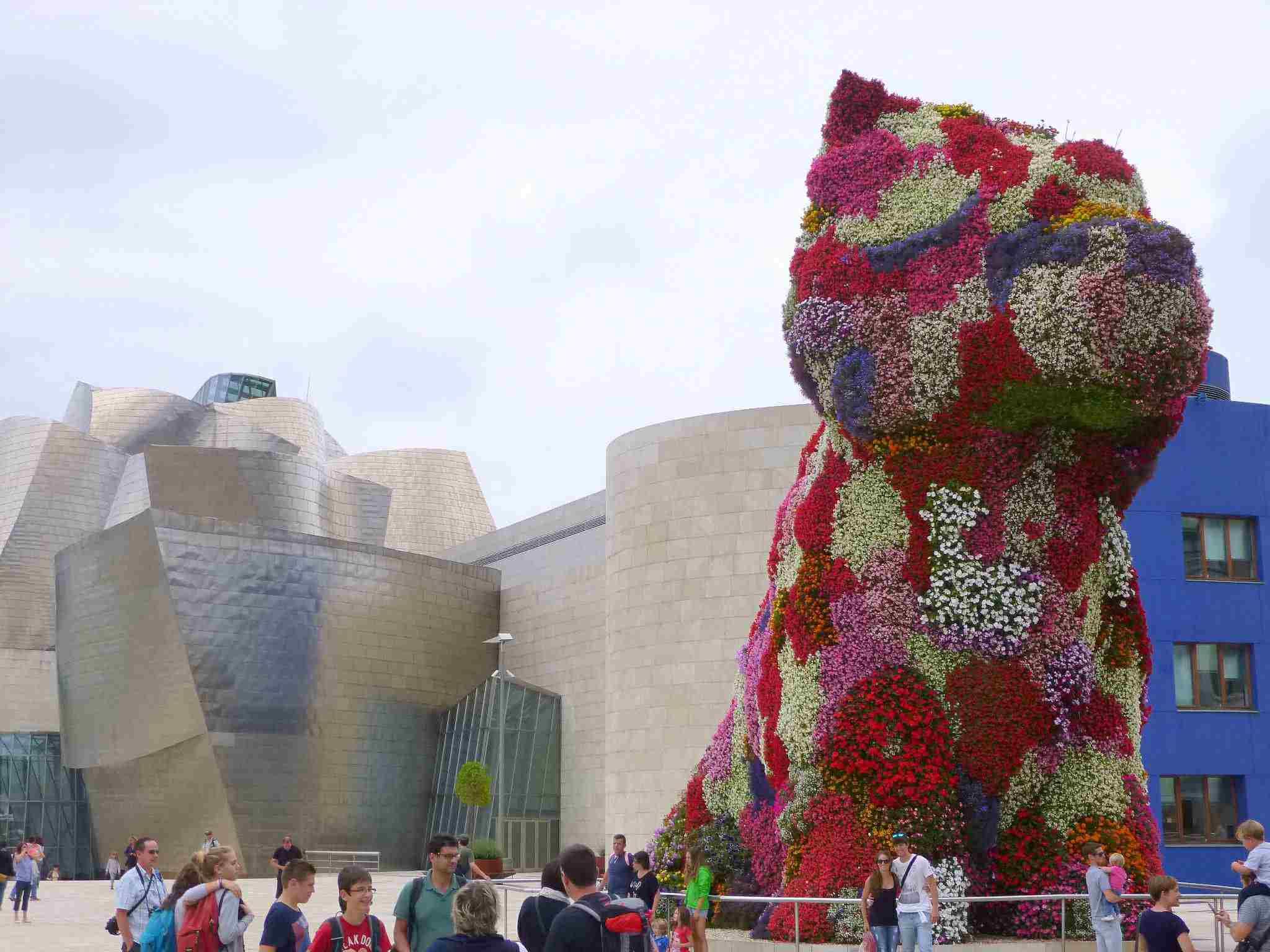 Escultura 'Puppy', de Jeff Koons