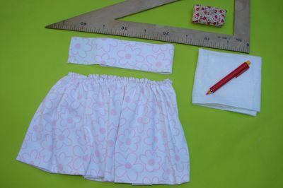 4e7711ca2 Cómo coser una falda con vuelo fruncido