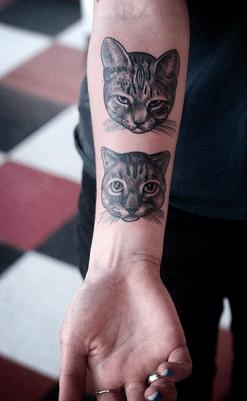 Significado De Los Tatuajes De Lobos Gatos Y Murciélagos
