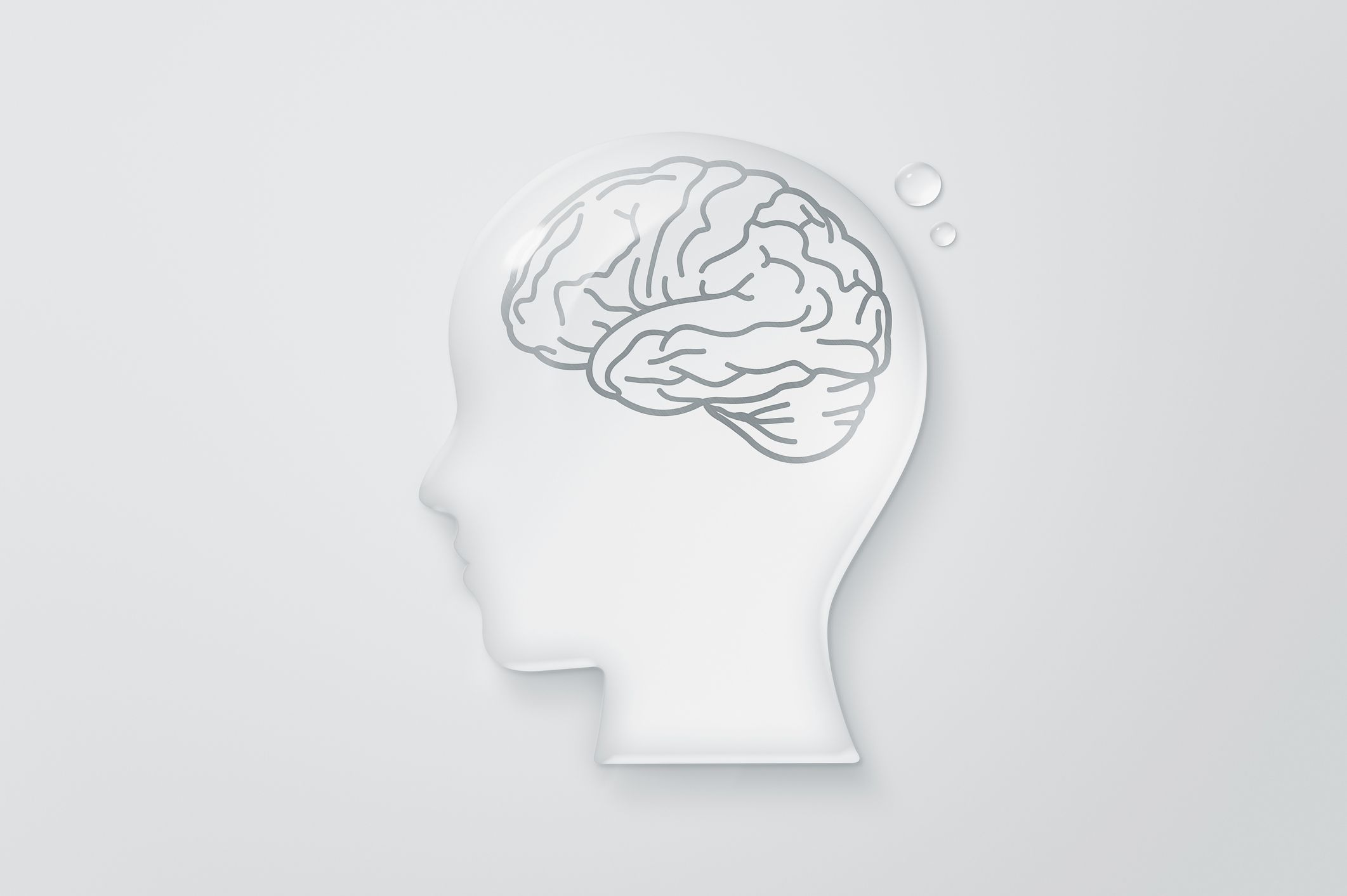 Cerebro humano, ilustración