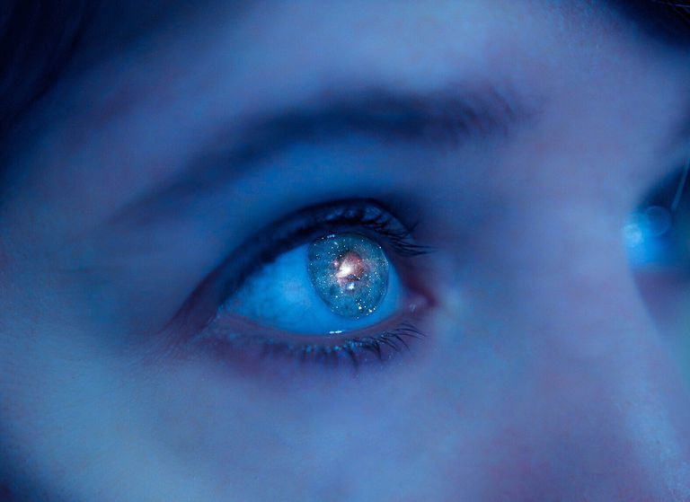 Nebulosa de Orión en ojo de mujer