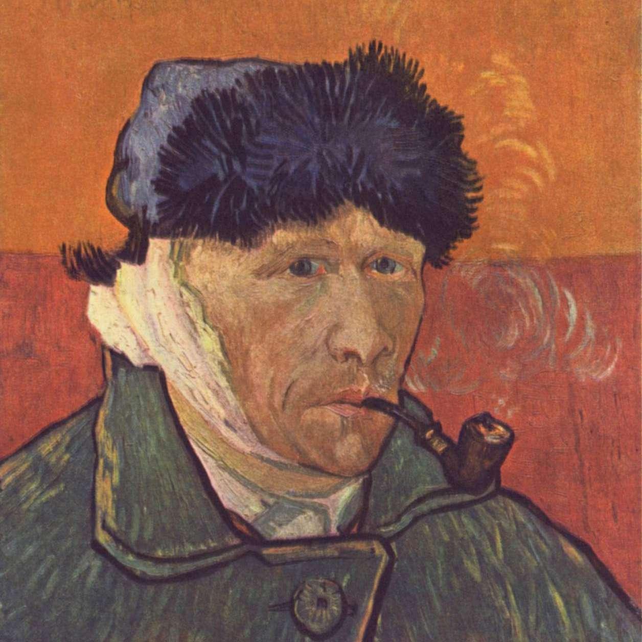Vincent van Gogh Autorretrato oreja vendaje