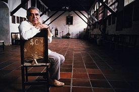 Gabriel Garcia Marquez, retrato