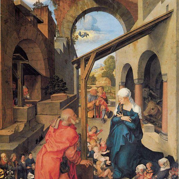 Nacimiento de Jesús de Durero