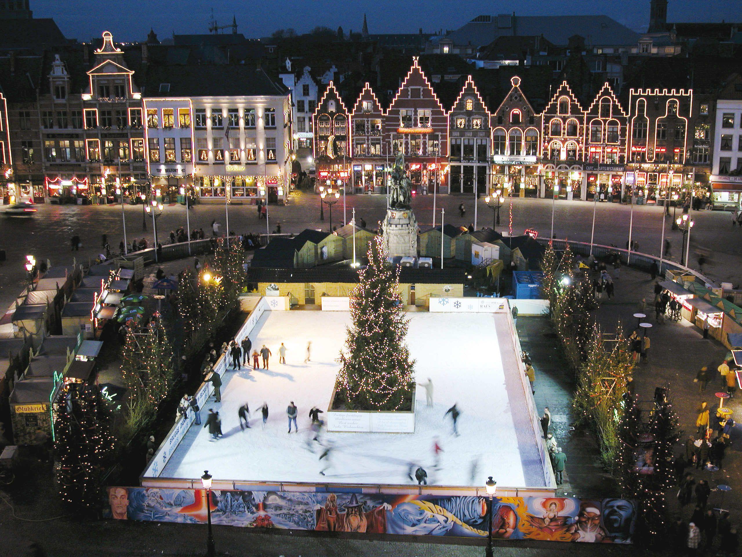 Brujas, Bélgica in christmas
