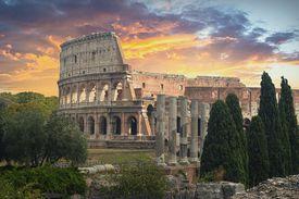 El Coliseo en Roma