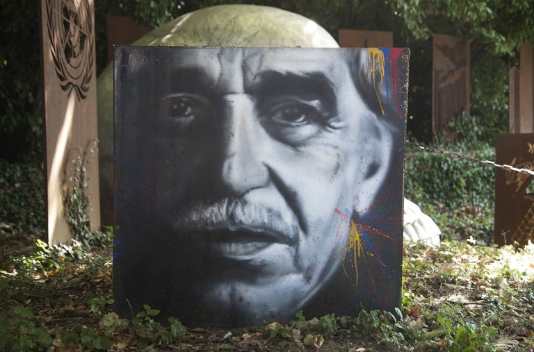 Gabriel García Márquez, retrato pintado