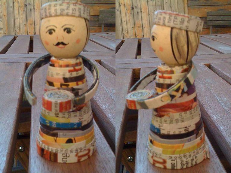 Muñeco de revistas