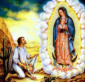 Aparición de la Virgen de Guadalupe