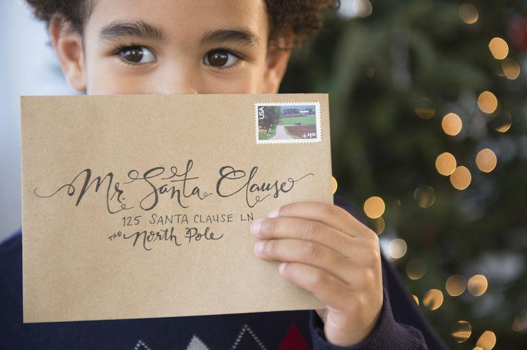 Carta a Santa Claus en inglés