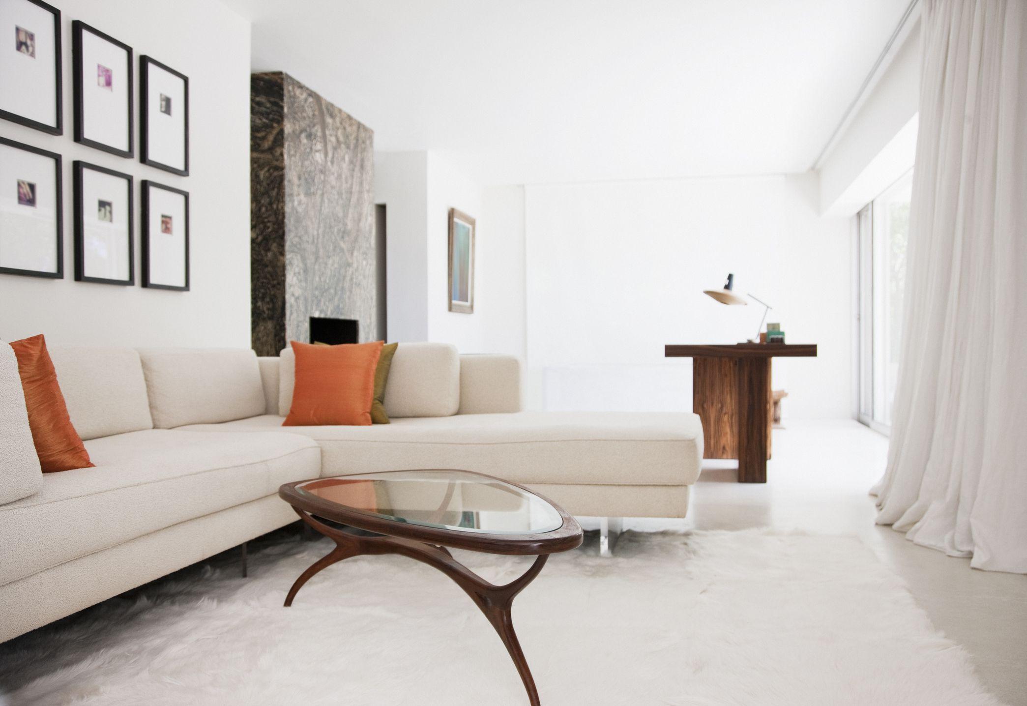 Mesa de centro o caf formas medidas y materiales - Mesas para el sofa ...