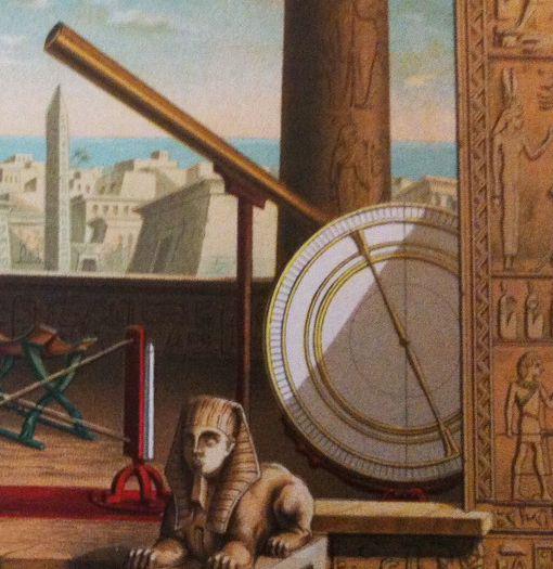 Biblioteca de Alejandría, Aristarco, Arquímedes, Eratóstenes, Apolonio, Hiparco, Ptolomeo