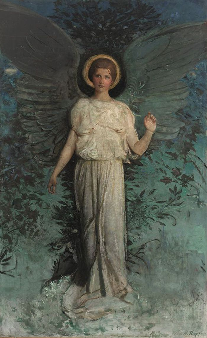 El ángel de Abbott Handerson Thayer