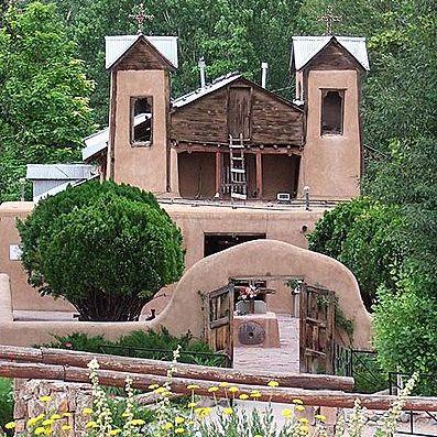 El santuario de Chimayó en Nuevo México