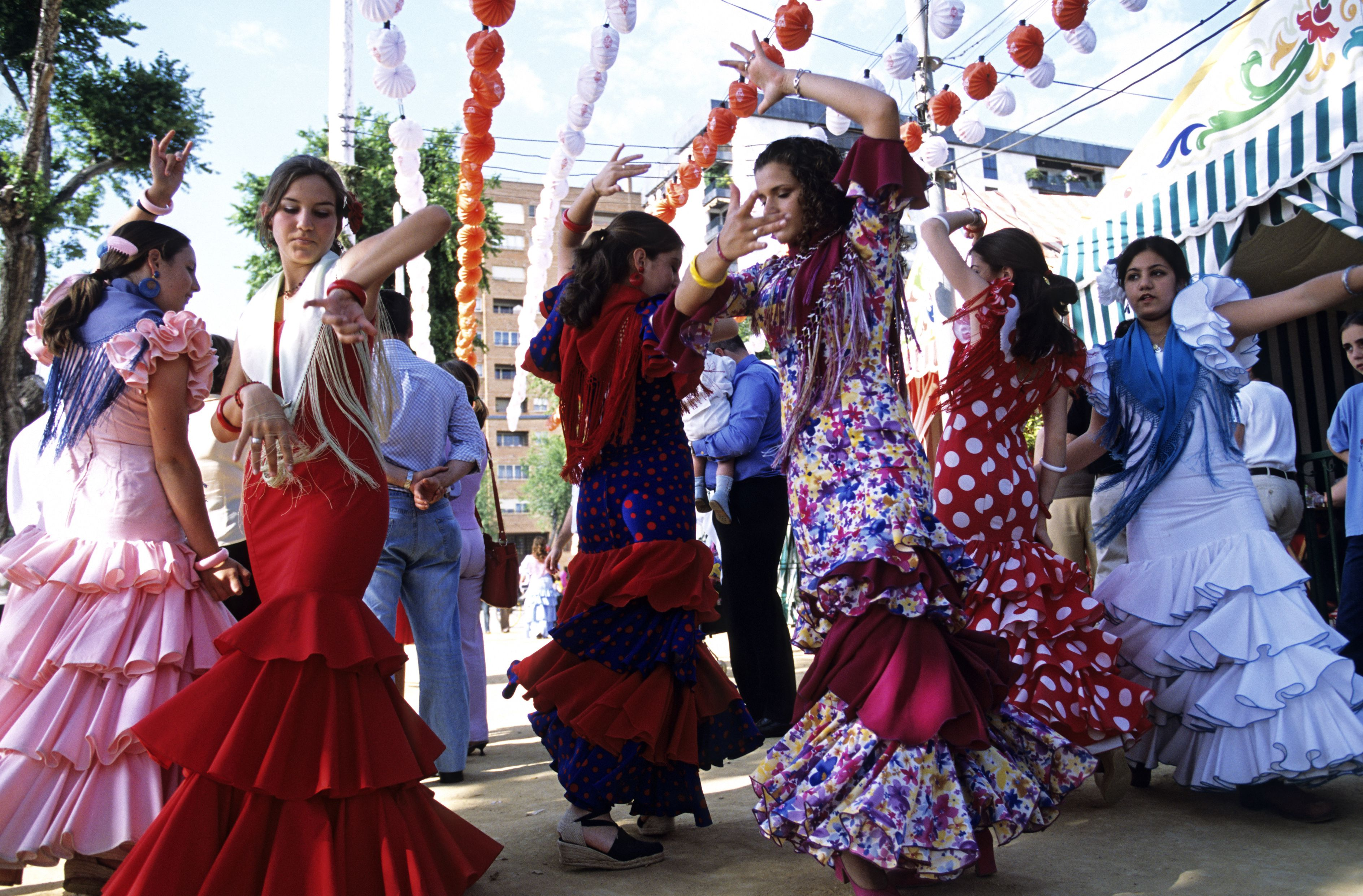 Flamenco fandango en Sevilla