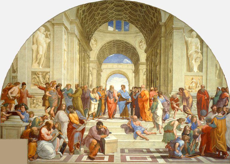 Muchos de los filósofos de 'La Escuela de Atenas', de Rafael, incluyeron citas y frases machistas y misóginas en su obra.