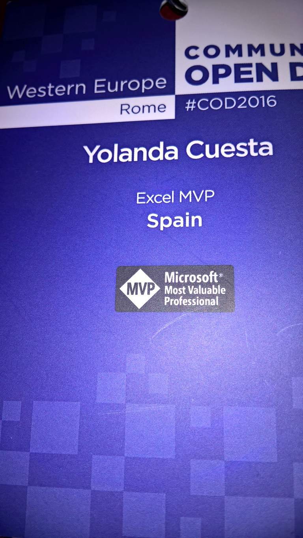 MVP Microsoft Excel