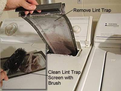 Quitando el filtro de la trampa de pelusa
