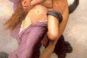 El rapto de Psique de William-Adolphe Bouguereau