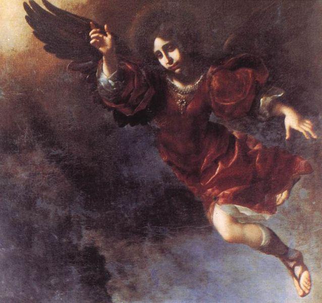 El ángel guardián por Carlo Dolci