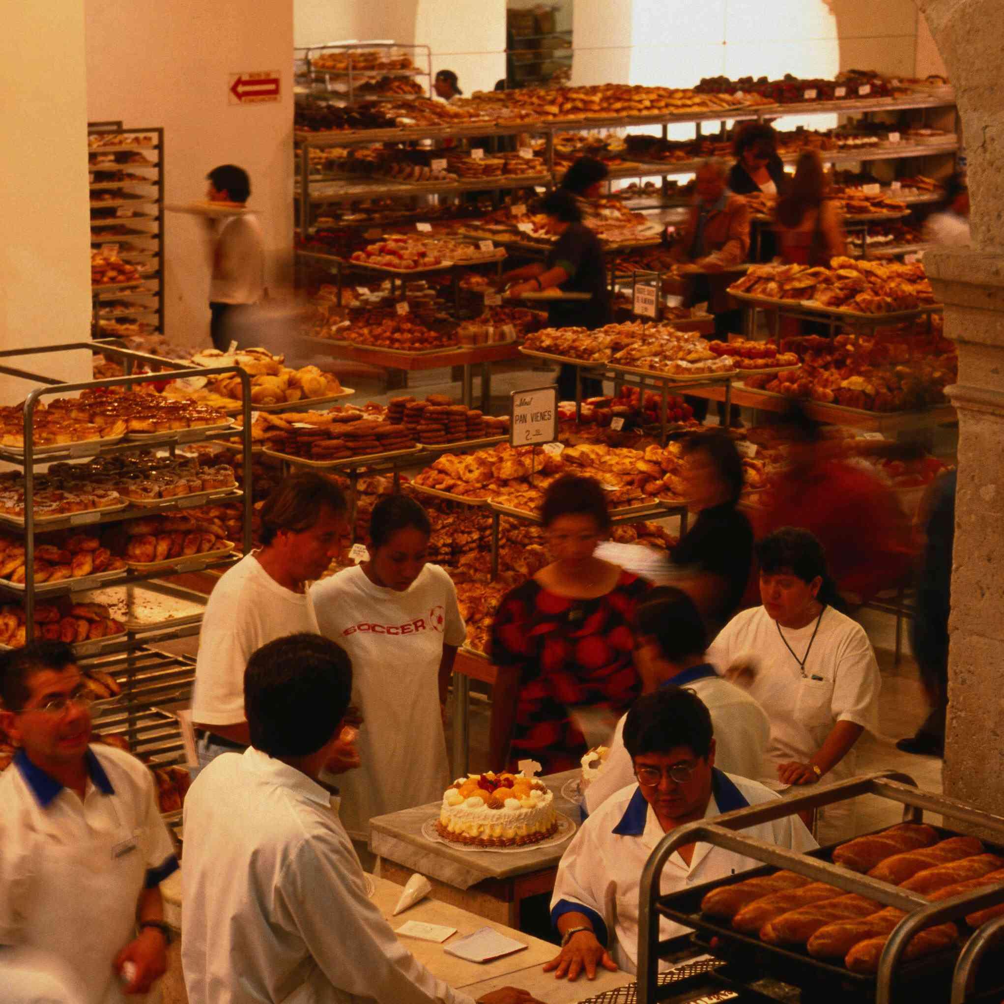 Panadería mexicana La Ideal