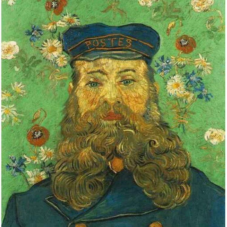 Vincent van Gogh, retrato Vincent Roulin