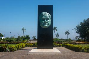 estatua de Rubén Darío