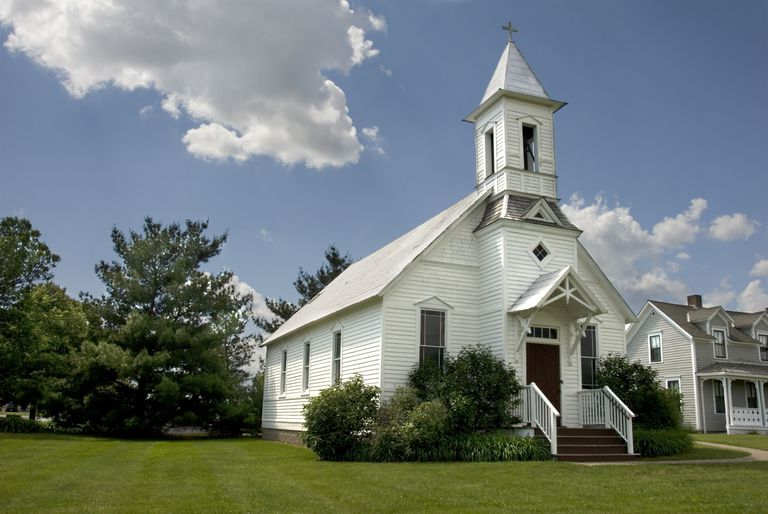 Rural Church in Wisconsin