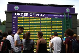 Cuadro torneo de tenis
