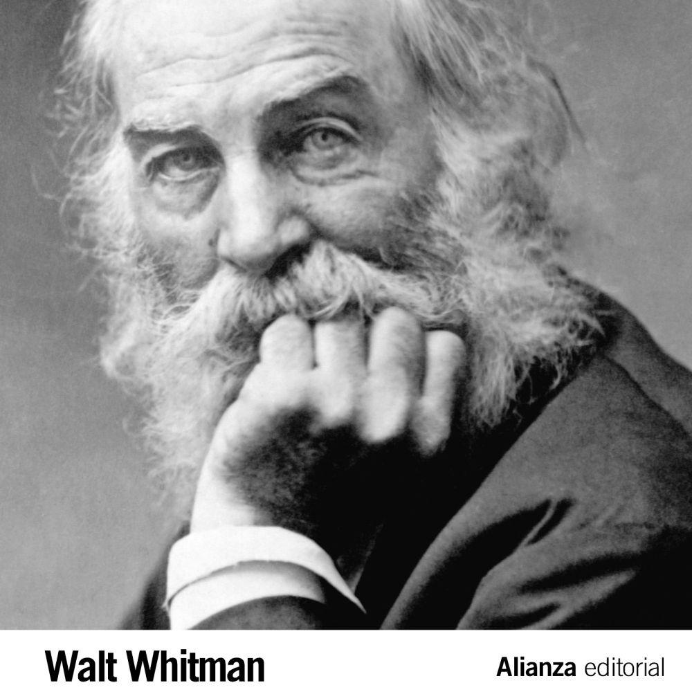 Hojas de hierba de Walt Whitman poesia Estados Unidos