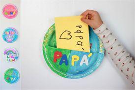 Manualidad: Buzón de San Valentín de plato de papel