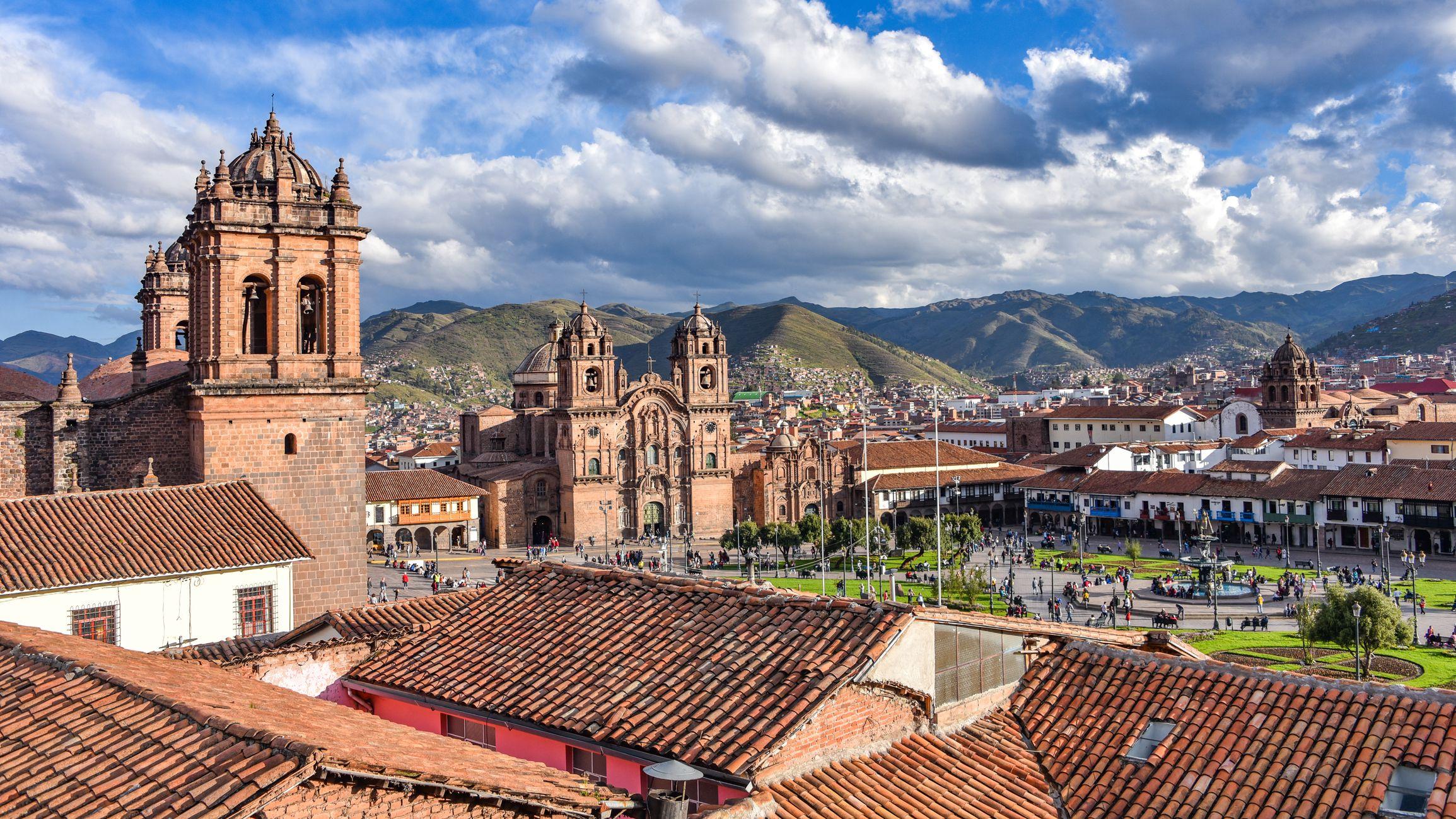 Vista de Cusco