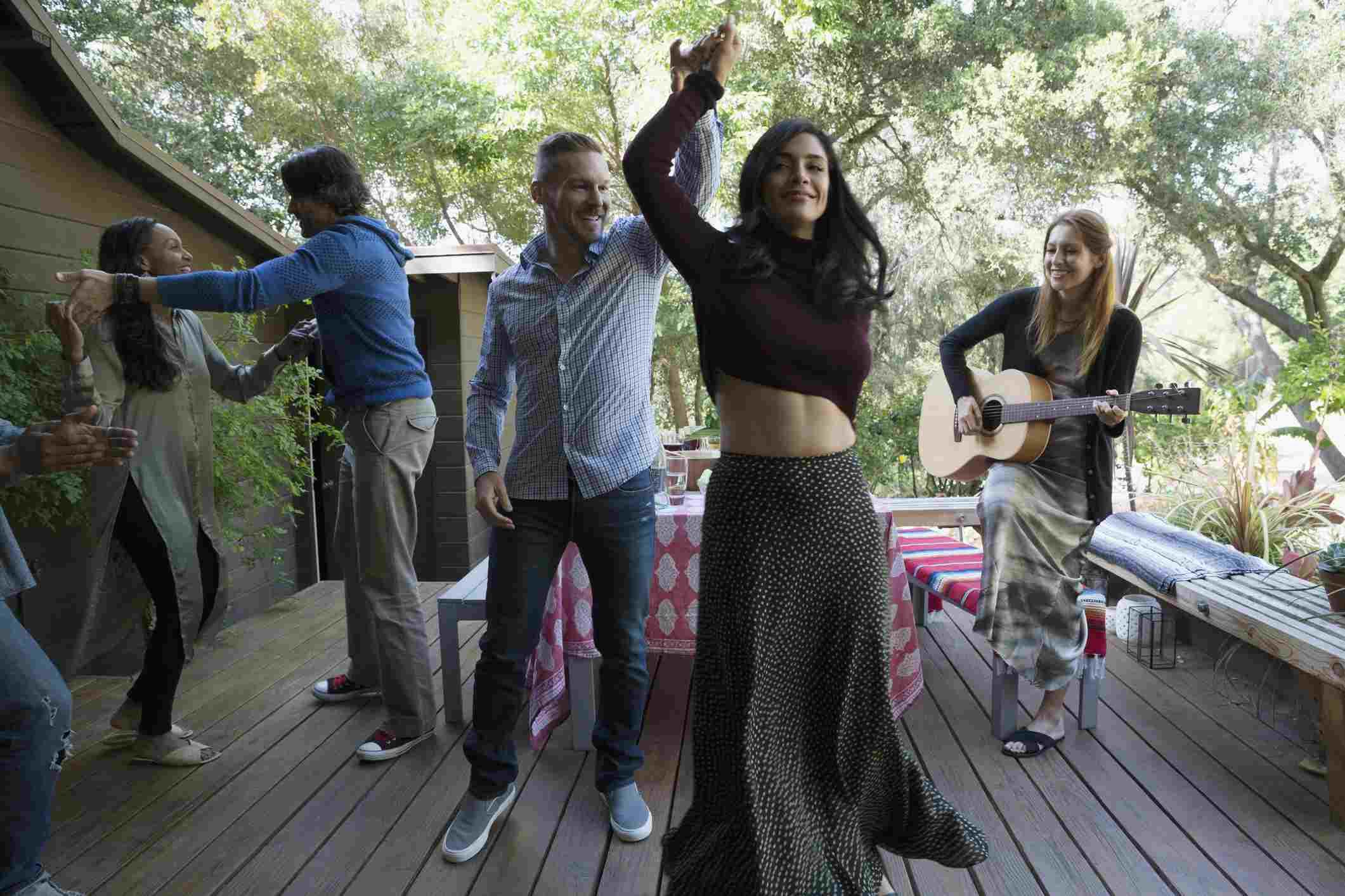 El baile es bueno para la salud