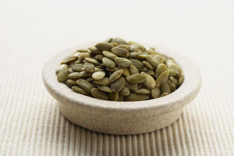 Semillas de calabaza alimento muy rico en magnesio