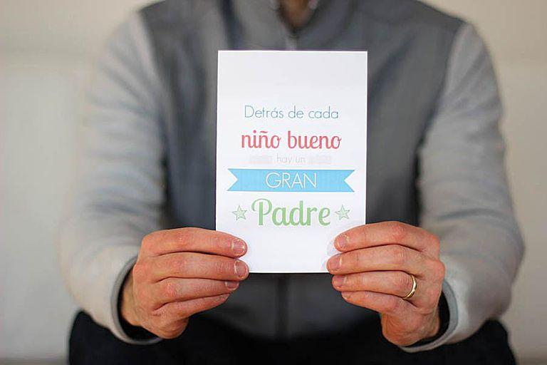 Tarjetas Del Día Del Padre Para Descargar E Imprimir Gratis