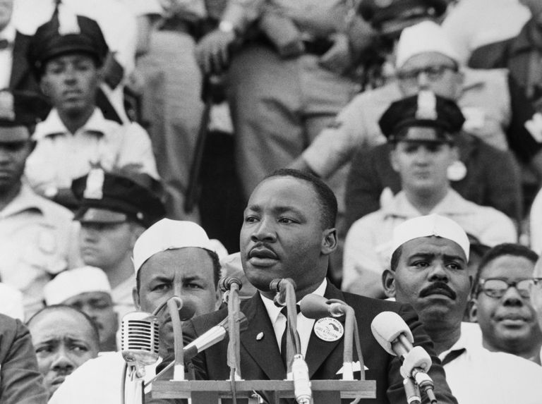 Martin Luther King pronuncia su discurso