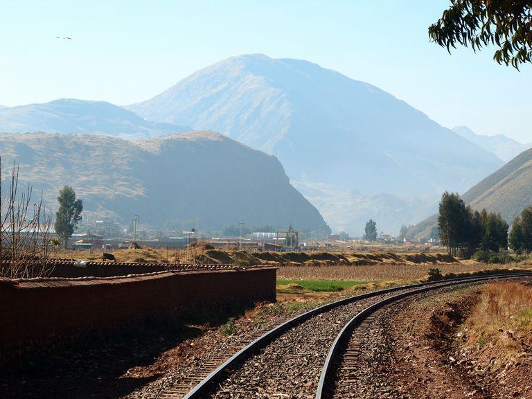 Ferrocarril rural en Tipon