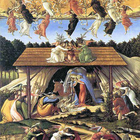 La Natividad Mística de Sandro Botticelli