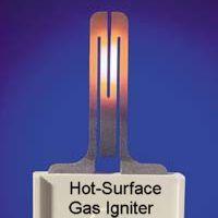 Sistema de ignición de superficie caliente